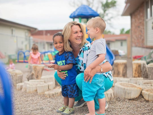 Raegen Breeden, owner of Play 'n' Learn Preschool and Daycare, is opening a new 10,000 square-foot facility this fall to serve the east end of Great Falls.