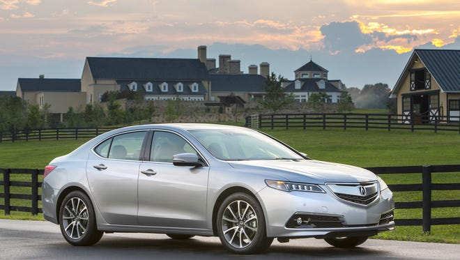 Honda Honda?s luxury brand is taking a welcome step forward with its 2015 Acura TLX. The car has lots of features for its price, which was tested at $44,700. 2015 Acura TLX.