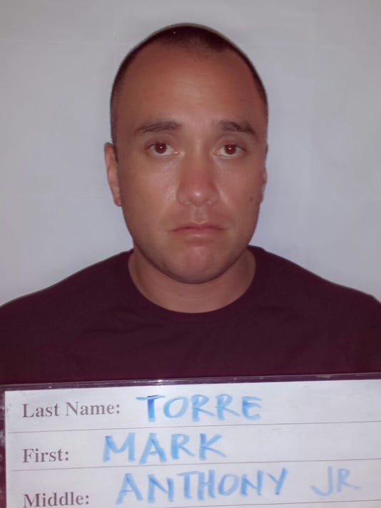 Mark Torre Jr. booking mugshot