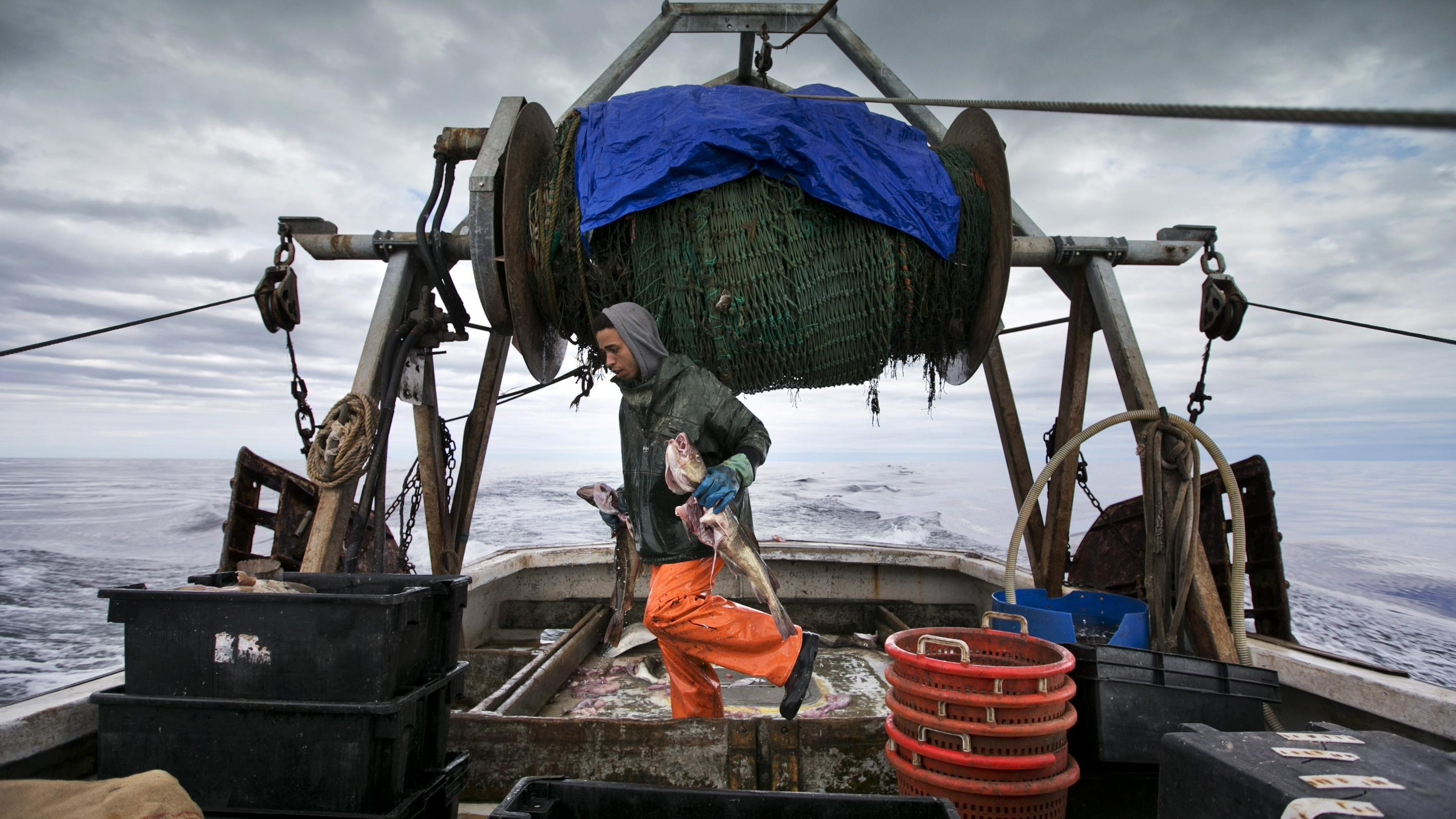 Fading fishermen historic industry faces warming world for East coast fishing