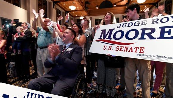 Judge Roy Moore Gaining Momentum Going into Alabama Senate Runoff