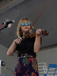 T'Monde's Kelli Jones performs at the 10th annual Cajun