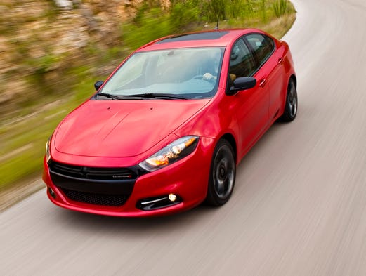 Dodge Dart has been a mainstay compact car. Here it is with the Blacktop package in 2012