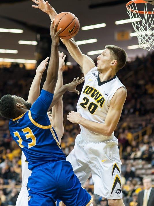 NCAA Basketball: UMKC at Iowa