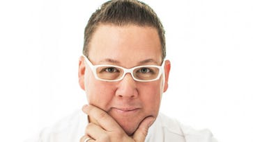 "Graham Elliot, Chicago chef and judge on ""Master Chef"" and ""MasterChef Jr"" will host a meet-and-greet session during azcentral's Food & Wine Experience."