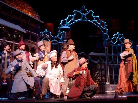 "The Nebraska Theatre Caravan returns to the Flynn Center on Dec. 1 for its annual performance of ""A Christmas Carol."""