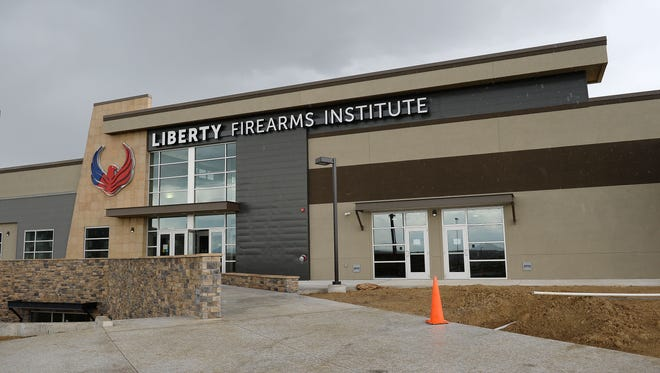 Liberty Firearms Institute will open to the public on May 30. In addition to 52 shooting lanes of varying lengths, the 100,000-square-foot facility will include 8 archery lanes, retail space, a coffee shop, and educational opportunities.