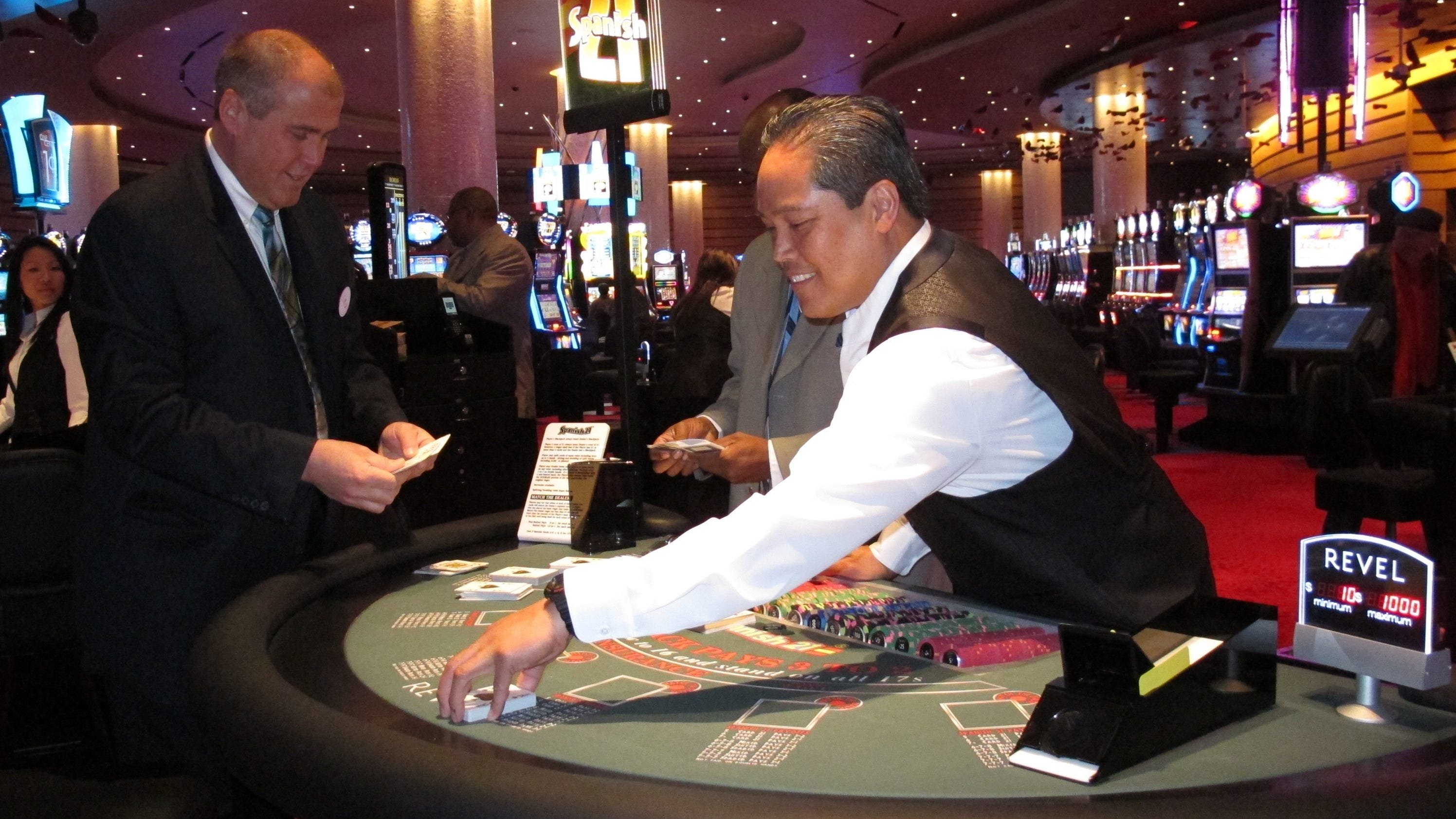 Casino Worker