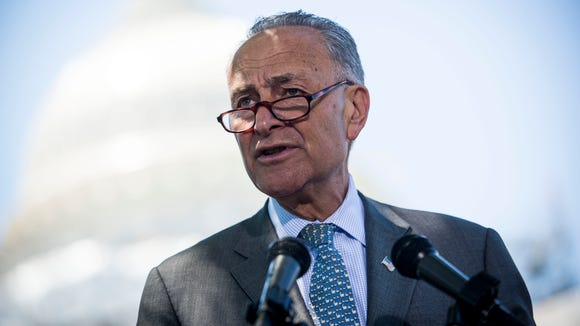 Sen. Chuck Schumer of New York is poised to become