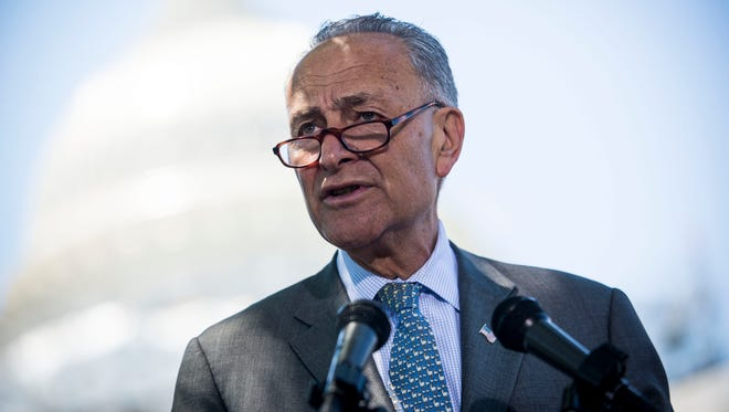 Sen. Chuck Schumer of New York is poised to become the Democratic leader in the next Congress.