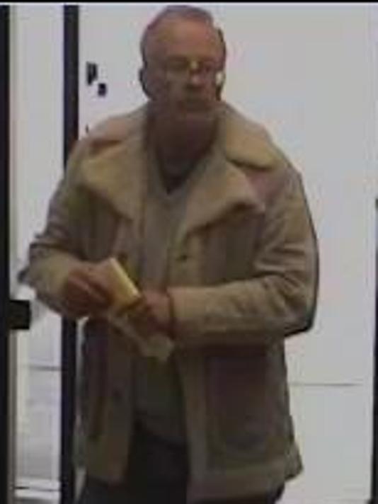 Suspected Wells Fargo bank robber 2