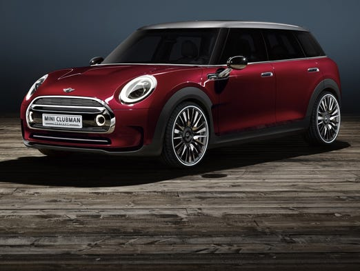 Mini Clubman gets bigger in this concept