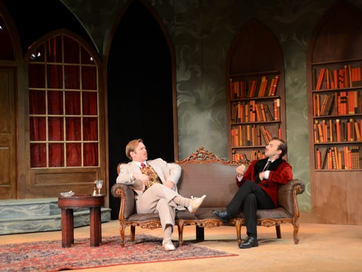 Jack, played by Patrick Sylvester, and Algernon, played