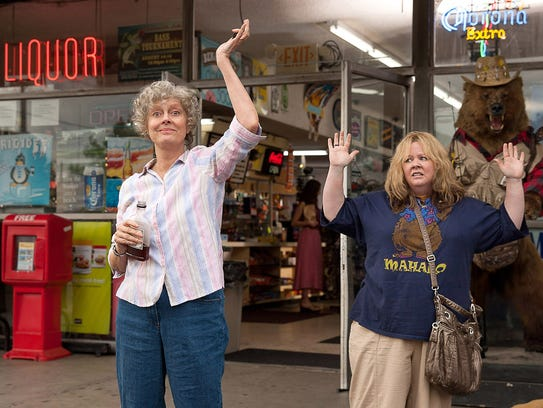 It's bottoms up for Pearl (Susan Sarandon, left) and