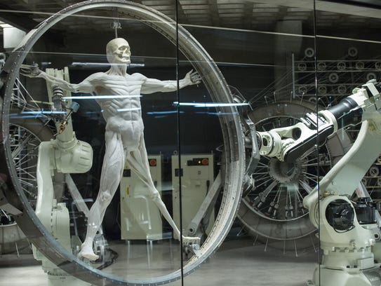 How the robots are made in the fantasy theme park of