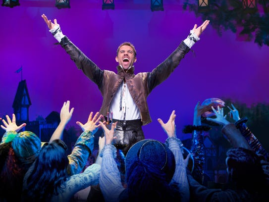 "The national tour of ""Something Rotten"" will hit the"