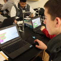 Teachers create coding course
