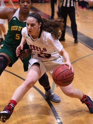 Saddle River Day sophomore Michelle Sidor averaged 27.8 points and made 126 three-pointers in an outstanding season.