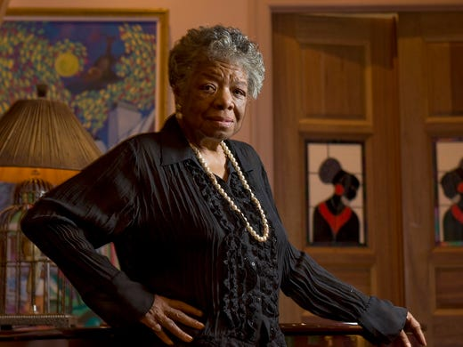 Maya Angelou stamp quote isn't hers?