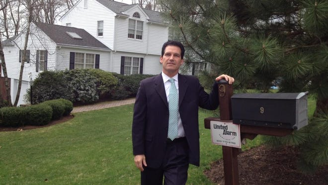 Gabe Pasquale, executive vice president, Westchester for Douglas Elliman, in front of a Chappaqua home that went to contract one week after it was listed Jan. 27 for $1,250,000. Well priced inventory moves fast, he says.