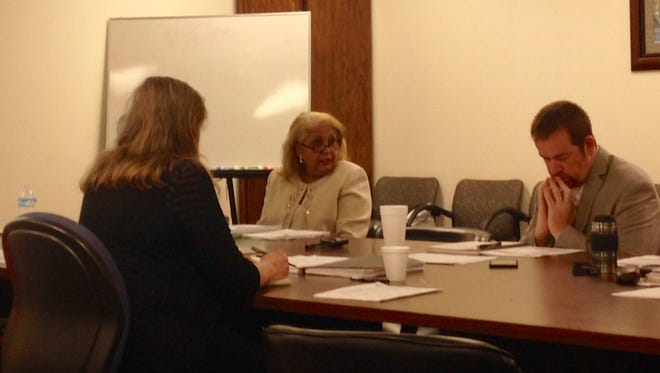 Jackson-Madison County Schools Superintendent Verna Ruffin addressed members of the Madison County Budget Committee on Friday morning.