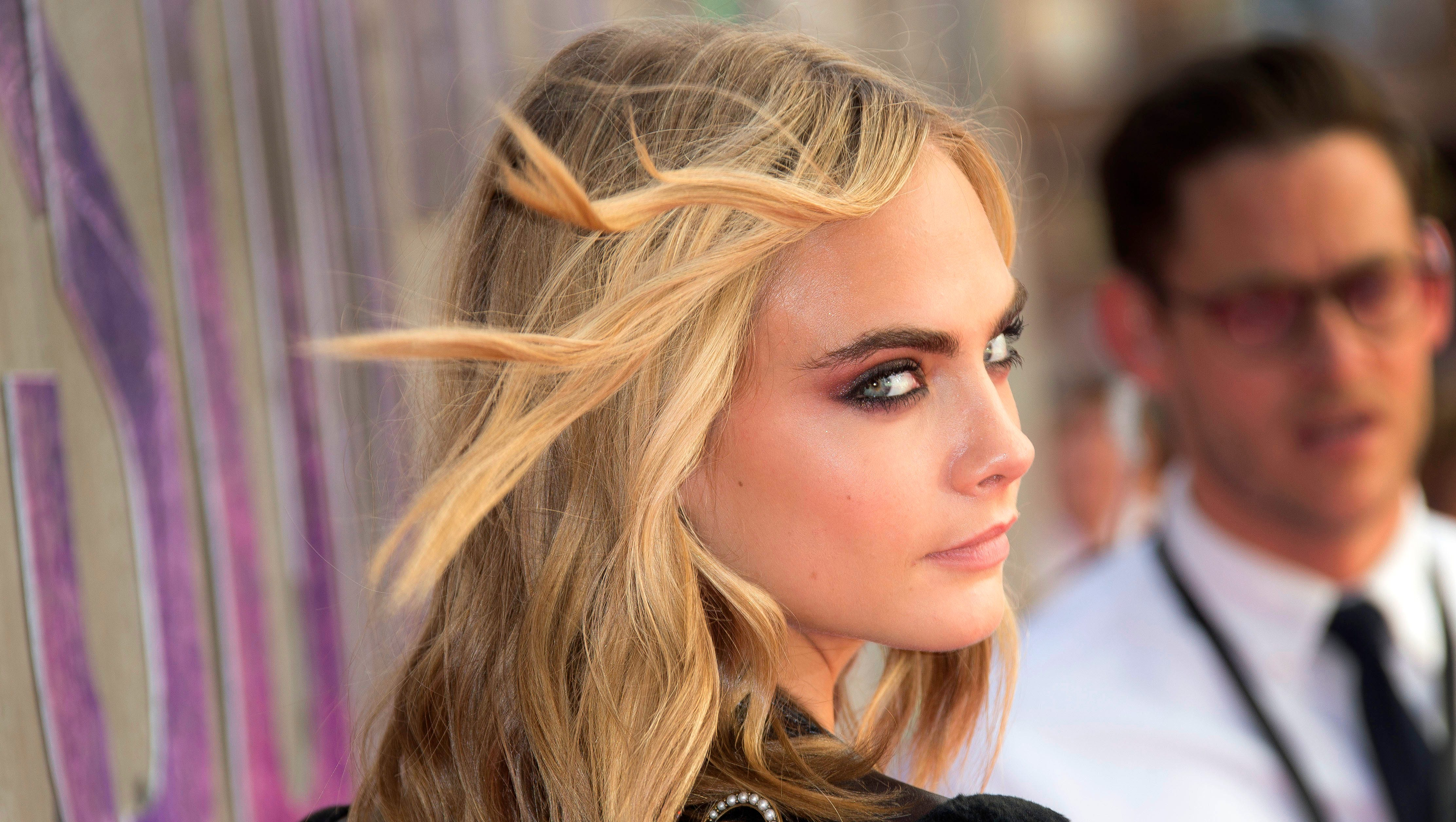 Cara Delevingne Turns 24 An Ode To Her Iconic Eyebrows
