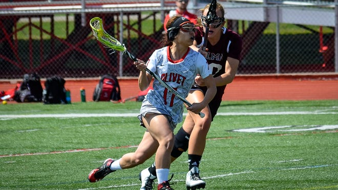 Lakeview graduate and Olivet College senior Geri Merrell leads the Comets in scoring heading into Wednesday's MIAA tournament.