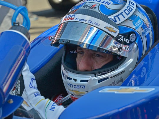 Driver Tony Kanaan has already seen some of what NTT can do. He has worn an undershirt designed by NTT engineers for the past three years while he races. Sensors in the shirt have tracked his forearm muscle movement. Data collected on muscle movement led to a more specialized workout for Kanaan.