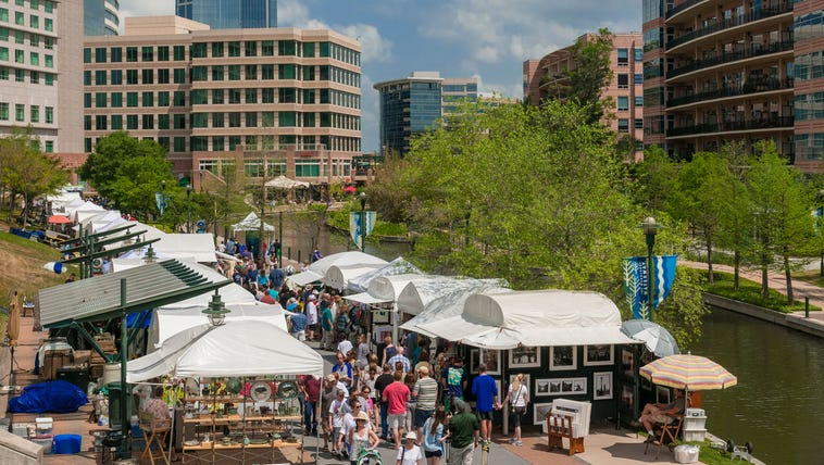 The Woodlands Waterway Arts Festival is celebrating