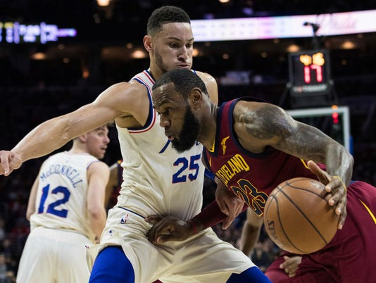 LeBron James, Ben Simmons