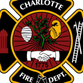Charlotte Fire Dept. logo