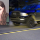 Police allege 24-year-old Alycia Howarth Pless, inset, stole her ex-boyfriend's 2010 Dodge Ram pickup, which is seen here as she fled police on Grand River Avenue in downtown Howell in August.