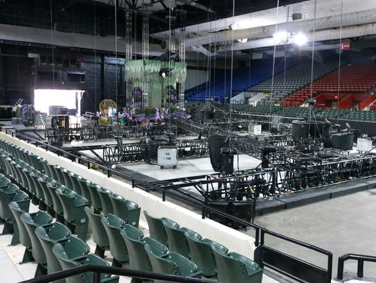 Disney On Ice is in the El Paso County Coliseum this