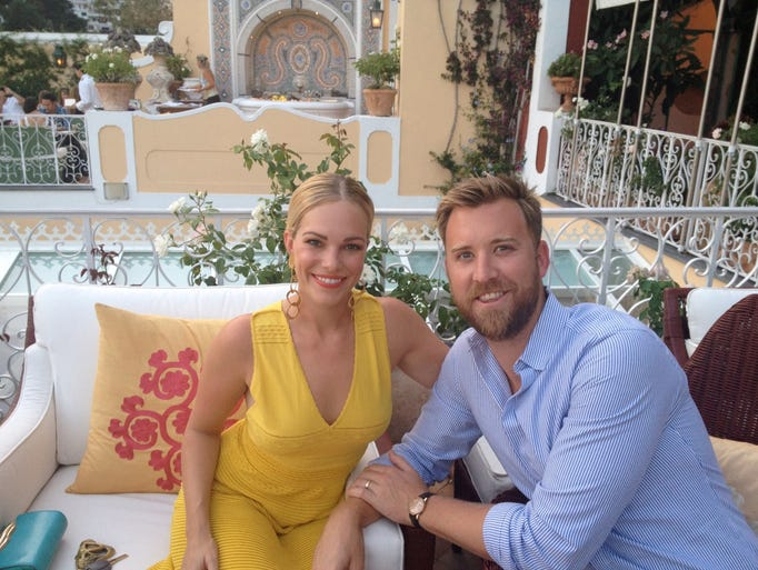 Cassie and Charles Kelley -- one of Nashville's hottest power couples -- offer up advice on the world's most romantic hotel bars.