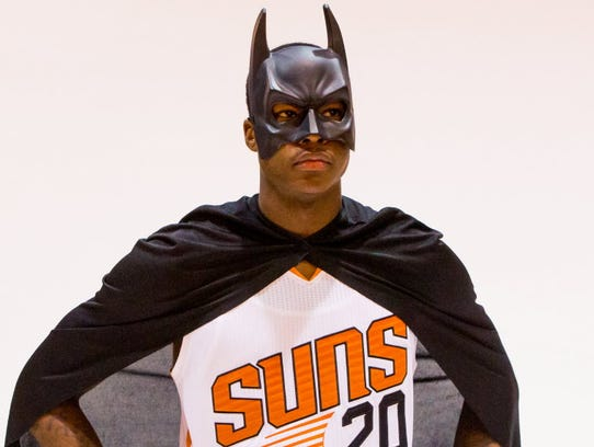 Even NBA players can go trick-or-treating? Phoenix
