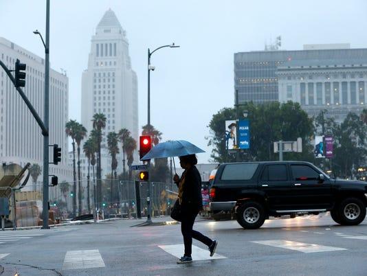 AP SOUTHERN CALIFORNIA RAIN A USA CA