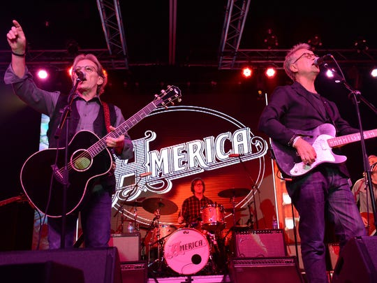 1970s hit-makers America headline a concert at the Orpheum on Sunday.