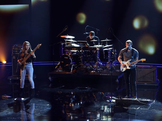 We Three, the musical act of siblings Bethany, Joshua and Manny Humlie, got special attention on Tuesday's episode of NBC's 'America's Got Talent' from guest judge Martina McBride.