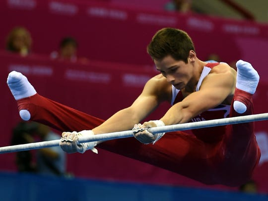 Alec Yoder of United States in action during the Horizontal