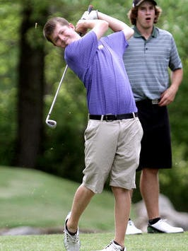 Hartland's Bryce Messner looks to lead his team through districts and into regionals on Thursday.