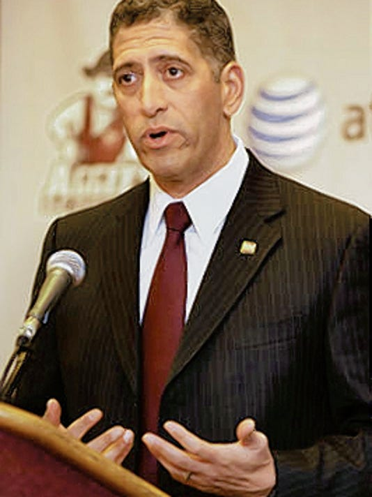 New Mexico State athletics director Mario Moccia