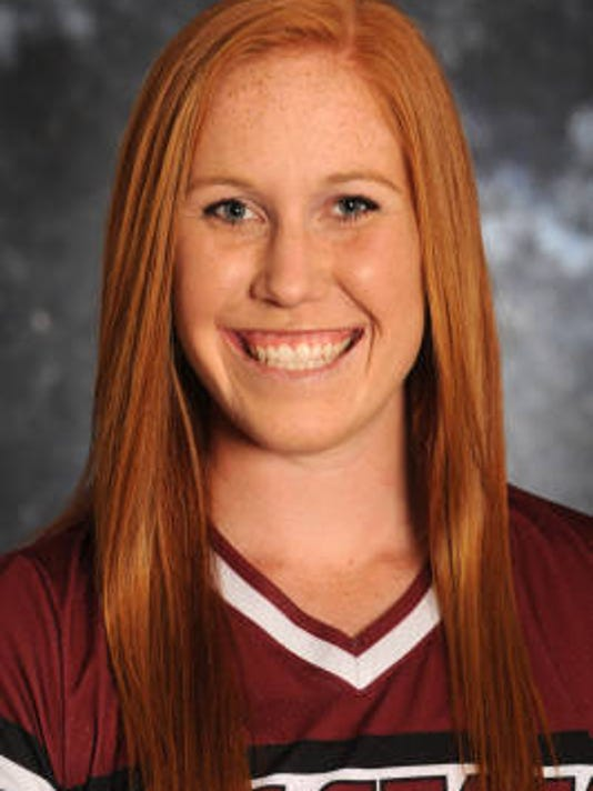 New Mexico State senior Kelsey Dodd.