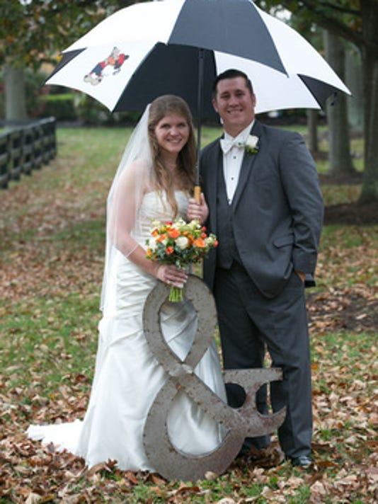 Weddings: CARRIE OSTROWSKI & JAMES FRICKER