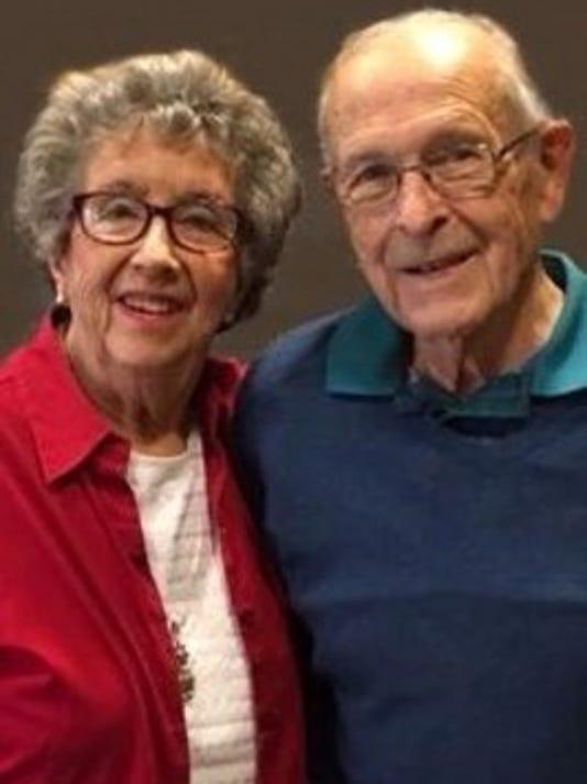 Anniversaries: G.L. (Lou) Barnett & Maggie Barnett