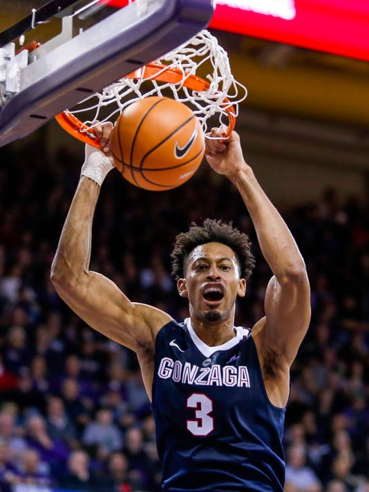 NCAA Basketball: Gonzaga at Washington