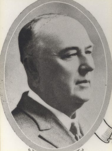 City Manager J.W. Greer who served from Feb. 1920 to Dec. 1, 1922.