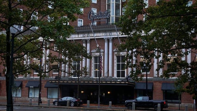 The Graduate Providence hotel, closed during the pandemic, has not announced a reopening date.