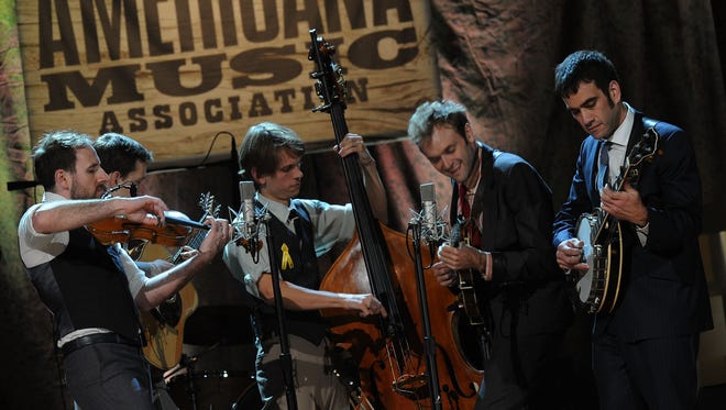 Acoustic quintet the Punch Brothers will perform at the Schermerhorn Symphony Center.