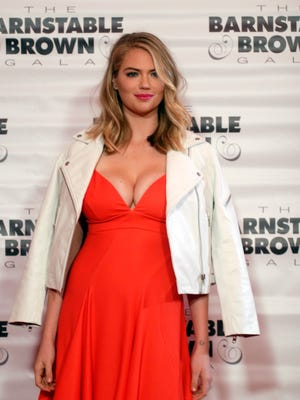 Model Kate Upton walks the red carpet at the Barnstable-Brown Gala Friday night.   May 06, 2016