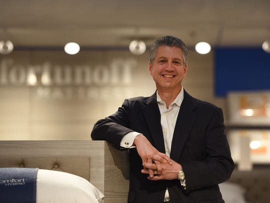 """""""At the end of the day, we're selling sleep,"""" said Bernie Sensale, chief executive of Fortunoff Mattress."""